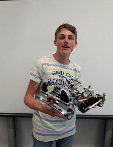Lego Mindstormes Roboter Projekt